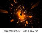 orange abstract background | Shutterstock . vector #281116772