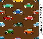 seamless wallpaper of set... | Shutterstock .eps vector #281146076