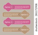 business infographics template... | Shutterstock .eps vector #281172908
