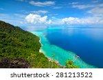 malaysia sabah borneo scenic... | Shutterstock . vector #281213522