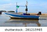 fishing boat | Shutterstock . vector #281215985