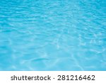 Blue Pool Water Background