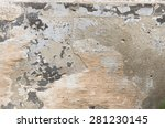 The Gray Concrete Wall With...