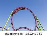 roller coaster people | Shutterstock . vector #281241752