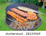 barbecue | Shutterstock . vector #28124569