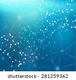 connections concept. vector... | Shutterstock .eps vector #281259362