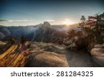 Half Dome And Yosemite Valley...