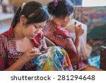 bali  indonesia   november 3rd... | Shutterstock . vector #281294648