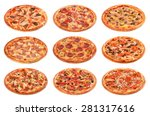 big set of the best italian... | Shutterstock . vector #281317616