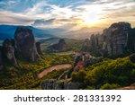 Meteora Monasteries Is One Of...