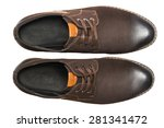 male shoes. top view | Shutterstock . vector #281341472