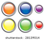 push buttons | Shutterstock .eps vector #28139014