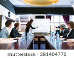 business training at office | Shutterstock . vector #281404772