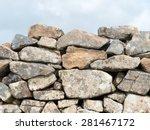 Ancient Cornish Dry Stone Wall...