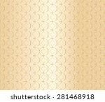 Geometric Gold Pattern...
