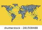 vector illustration background... | Shutterstock .eps vector #281508488