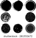 set of grunge rubber stamps.... | Shutterstock .eps vector #281552672