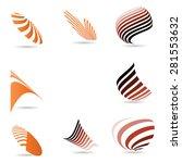 logo set .  | Shutterstock .eps vector #281553632
