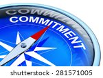 commitment | Shutterstock . vector #281571005