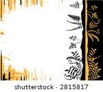 vector design of plants on a... | Shutterstock .eps vector #2815817