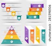 modern infographics element... | Shutterstock .eps vector #281598506