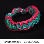 colorful  rainbow colors rubber ... | Shutterstock . vector #281602022