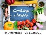 cooking classes | Shutterstock . vector #281635022