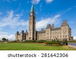 the center block and the peace... | Shutterstock . vector #281642306