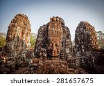 ancient civilization temple.... | Shutterstock . vector #281657675