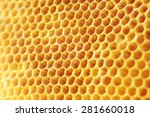 Golden Color Honey Comb As...