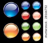 web buttons | Shutterstock .eps vector #28166752