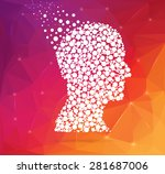 abstract creative concept... | Shutterstock .eps vector #281687006