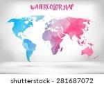 abstract creative concept... | Shutterstock .eps vector #281687072