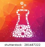abstract creative concept... | Shutterstock .eps vector #281687222