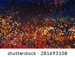 shiny circles of light  | Shutterstock . vector #281693108