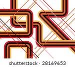 pick up sticks | Shutterstock .eps vector #28169653