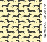 seamless pattern with repeating ... | Shutterstock .eps vector #281701172