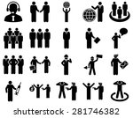 management and people... | Shutterstock . vector #281746382