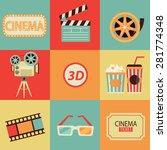 set of movie design elements...
