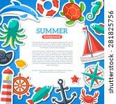 Summer Concept Flyer Template...