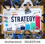 strategy planning plan process... | Shutterstock . vector #281829146