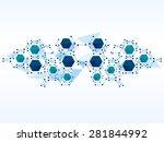 vector design technology... | Shutterstock .eps vector #281844992