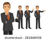 businessman | Shutterstock .eps vector #281868458