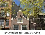 amsterdam   apr 28  an old... | Shutterstock . vector #281897345