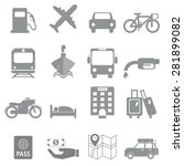 icon symbol tourism and... | Shutterstock .eps vector #281899082