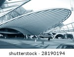 modern train and subway station ...   Shutterstock . vector #28190194