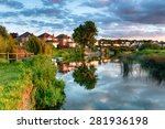 The Banks Of The River Stour As ...