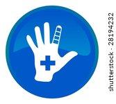 web button   first aid   Shutterstock .eps vector #28194232
