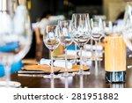 selective soft focus on wine... | Shutterstock . vector #281951882