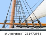 Tall Ship Rigging Detail....